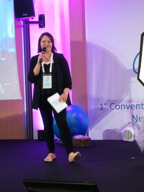Elisiane Bianchini saluta i partecipanti a Cifoto 2018