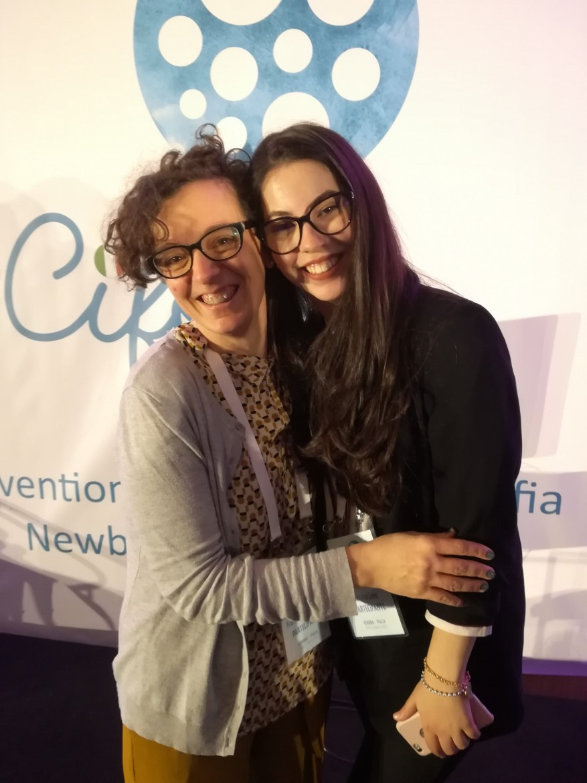 ...e alla sua assistente in Europa Jessica Lima!!