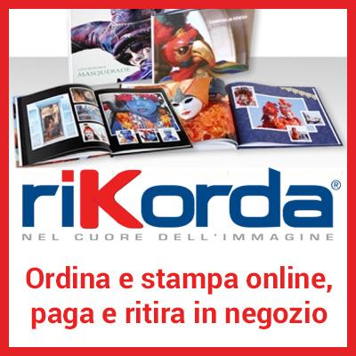 Ordina le tue stampe online con Rikorda, paga e ritira in negozio